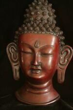 Buddha head Hanging resin statue