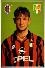 Cartolina Milan Stagione 1995/96 - Tomas Locatelli