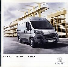 Peugeot Boxer 09 / 2014 catalogue brochure  Autriche
