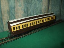 HORNBY GWR CLERESTORY NON BRAKE CHOCOLATE AND CREAM COACH - No.2