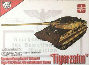 Modelcollect UA35016 1/35 German Tiger III Ausf.F Tank 12.8cm L/55 w/Add Armour