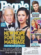 Michael Douglas & Catherine Zeta-Jones, Scott Eastwood - Oct. 7, 2013 People
