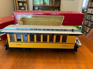 LGB 3080 D&RGW Coach  in box and slipcase