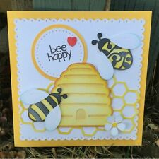 Bee Hive Metal Cutting Dies Stencils For Scrapbooking Paper Crafts & Card Making