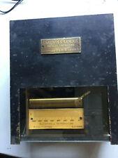 Ancien enregistreur thermique à cylindre CHAUVIN ARNOUX Thermomètre Horlogerie