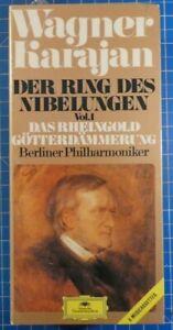 Wagner Karajan Der Ring des Nibelungen Karajan Box 6MC 3378066 MC OVP Mint
