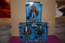 Star Wars Elite Series Rogue 1 Lot of 3 Die-Cast Figures Jyn, Cassian, Bodhi
