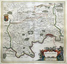 London 1600 Map.London Middlesex Antique European Maps Atlases 1600 1699 Date