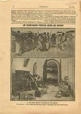 Jesuítas jésuites Franc-Maçons Franco-maçonaria Portugal ... 1910 ILLUSTRATION