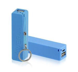 Bateria externa cargador power bank universal portatil para movil tablet 2600mAh