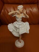 Unterweißbach Porzellanfigur - Ballerina - Tänzerin -