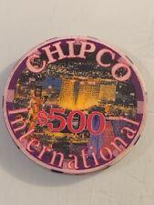 New listing Chipco International $500 Casino Chip 3.99 Shipping