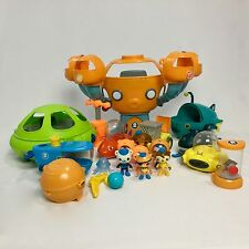 OCTONAUTS OCTOPOD PLAYSET HUGE LOT Gup Submarine Sub Vehicles Figures Octo-Lab