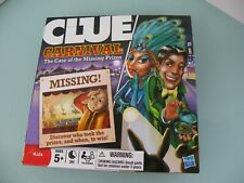 Clue Carnival - The case of the missing prizes - Kids - Hasbro - 2009 Xmas gift