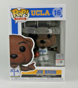 Funko UCLA Joe Bruin College Mascots Pop! Vinyl Figure #16 - NIB w/ Protector