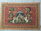 Gobelin Tapestry Textile Picture Panels Lady With Unicorn without Frame