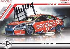 RICK KELLY SIGNED DRIVER CARD poster V8 Supercars Nissan Altima 2017 Nismo