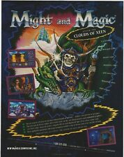 Might And Magic IV: Clouds Of Xeen Print Ad/Poster Art PC Big Box
