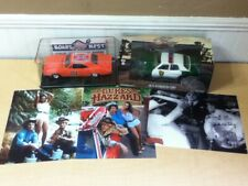 3 SIGNED AUTOGRAPHS - Dukes of Hazzard 1/25 1/24 General Lee Sheriff Diecast LOT