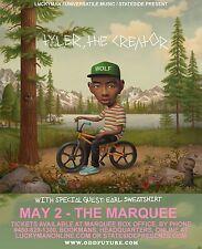 Tyler, The Creator/Earl Sweatshirt 2013 Phoenix Concert Tour Poster-Hip Hop, Rap