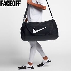 Nike Gym / Short Trip Black Duffel Bag Medium Size (61L)