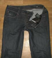 "extrem hüftige G- STAR RAW "" NEW FORD STRAIGHT "" Damen- JEANS  blau W32"" /L32"""
