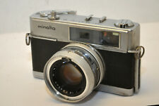 Vintage Minolta Hi-Matic 7 RF Film Camera w/ Rokkor 45mm f/1.8