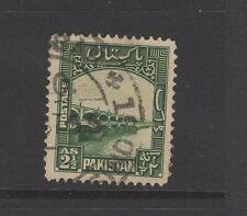 PAKISTAN 1948 2 1/2A GREEN LLOYDS BARRAGE - Nice Used
