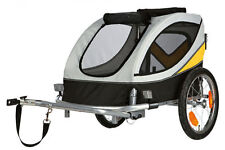 Trixie 12805 Fahrrad-anhänger 45x 48x74cm Grau/Schwarz/Gelb 30kg