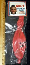 1983 MR. T RED PUNCHING BALL PRO MODEL SEALED IN PKG. NEW OLD STOCK HONG KONG M