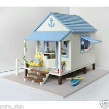 REDUCED DIY Wooden Kit House Facing The Sea by Cute Room 1420g