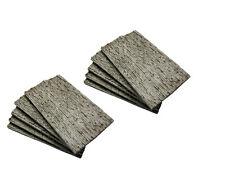10 Mauerplatten für H0/TT - unregelmäßige Steinstruktur