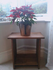 2 x Stunning Solid Wood Side Tables - Various Colours Available