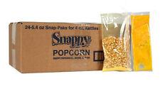 Popcorn Machine supplies - Popcorn Snap Packs for 4 oz