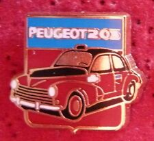 PIN'S VOITURE PEUGEOT 203 TAXI ZAMAC HELIUM