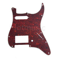 Tortoise Electric Guitar HS Pickguard Scratch Plate for Fender Strat 3 Ply Parts