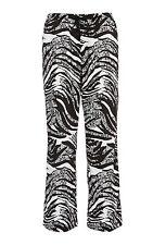 Peter Alexander Ladies Lace Zebra Classic Cotton PJ Pant Small - 10 RRP $59.95