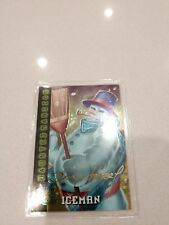 1995 FLEER ULTRA X-MEN CHROME CHROMIUM GOLD SIGNATURE CARD #94 ICEMAN