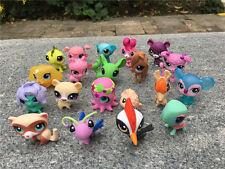 Hasbro Littlest Pet Shop LPS 10pcs Animal Toy Figures New Loose