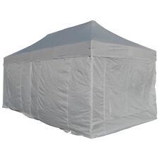 6x4m Alu Profi Faltzelt Marktzelt Marktstand Tent 40mm Quad Metallgelenke planen