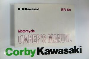 KAWASAKI ER6N OWNERS MANUAL