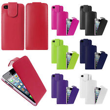Vertical Leather Flip Case Mobile Phone Cover Pouch for Apple iPhone 5 5S 5GS SE