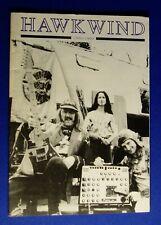 Hawkwind 1990-1993. Hawkfrendz fanzine. . VFN