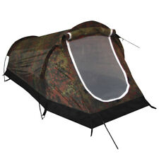 Stable 1 Person Tent Tunnel With Insect Net / Schwarzenberg Camouflage