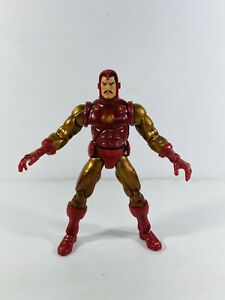 ToyBiz Marvel Legends Series 1 Gold Iron Man Variant Action Figure Avenger Chase