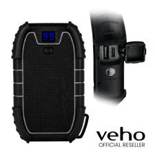 VEHO PEBBLE ENDURANCE 15000MAH SMARTPHONE & TABLET CHARGER - BLACK - VPP-008-E