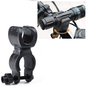 360 Degree Bicycle LED Flashlight Mount Holder for Bike Torch Clip Clamp