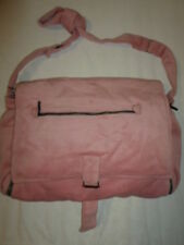 SAC A LANGER BUTTERFLY NUMAE ROSE VELOURS NEUF