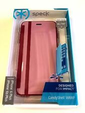 NEW PaleRose Pink/Cabernet Red - iPhone 6/6s PLUS CandyShell Wrap by Speck