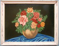 H.Kratz. expressionist. naiv shabby Blumen